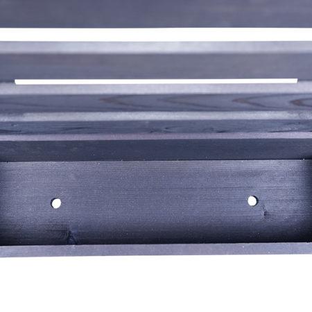スリムプランター(フェンス付)DB w600
